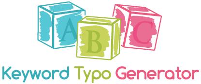 Keyword typo generator
