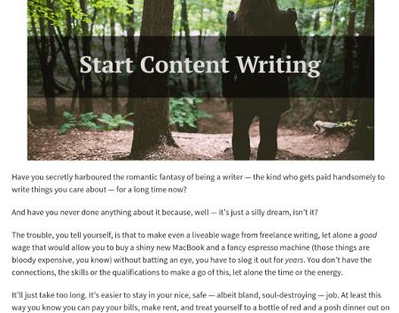 Karen Marston Untamed Writing