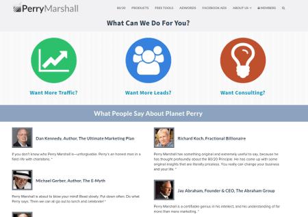 Perry Marshall: Training