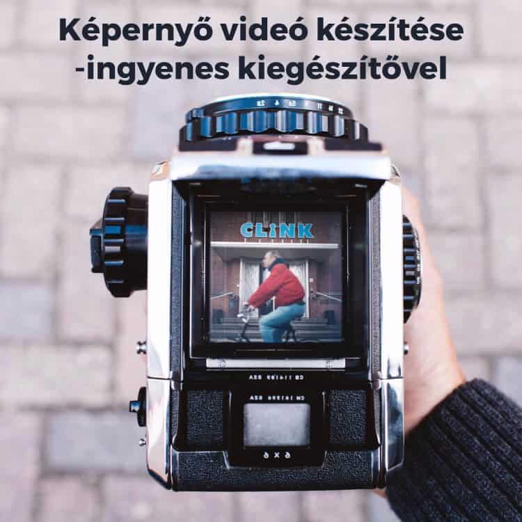 loom képernyő videó
